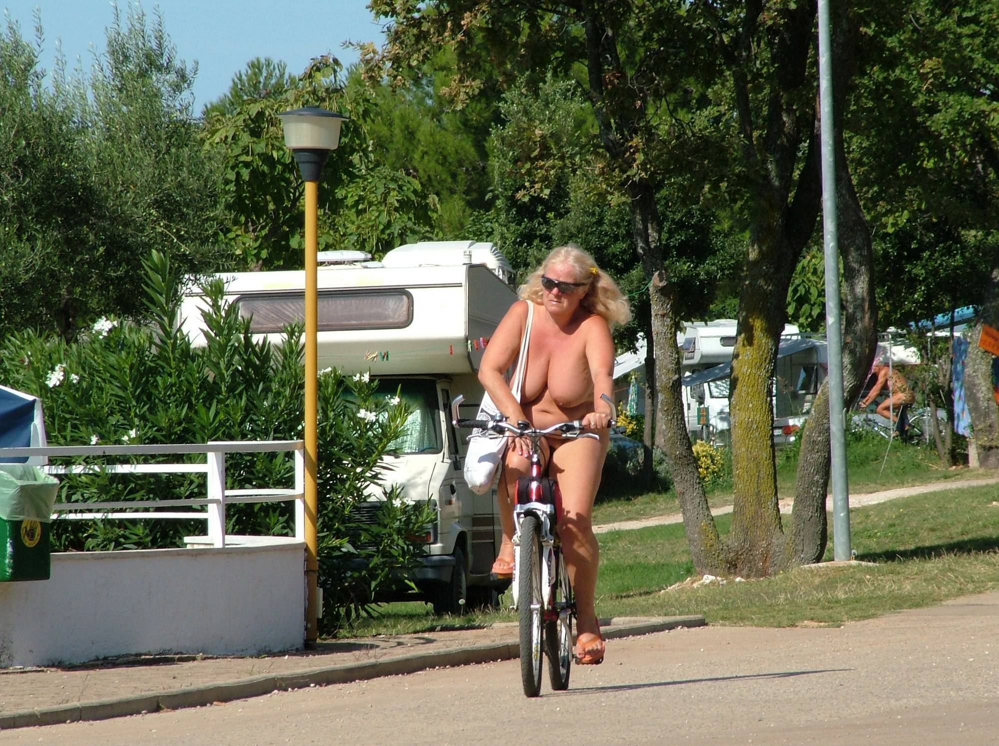 Nudist Pictures Naturist FKK Day Biking - 2