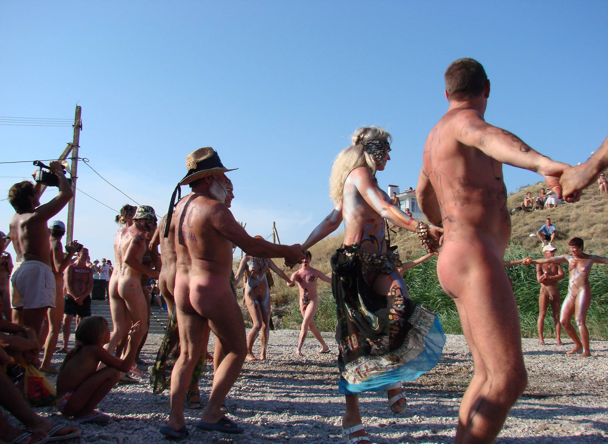 Nudist Photos Neptune Day Dance Shot - 1
