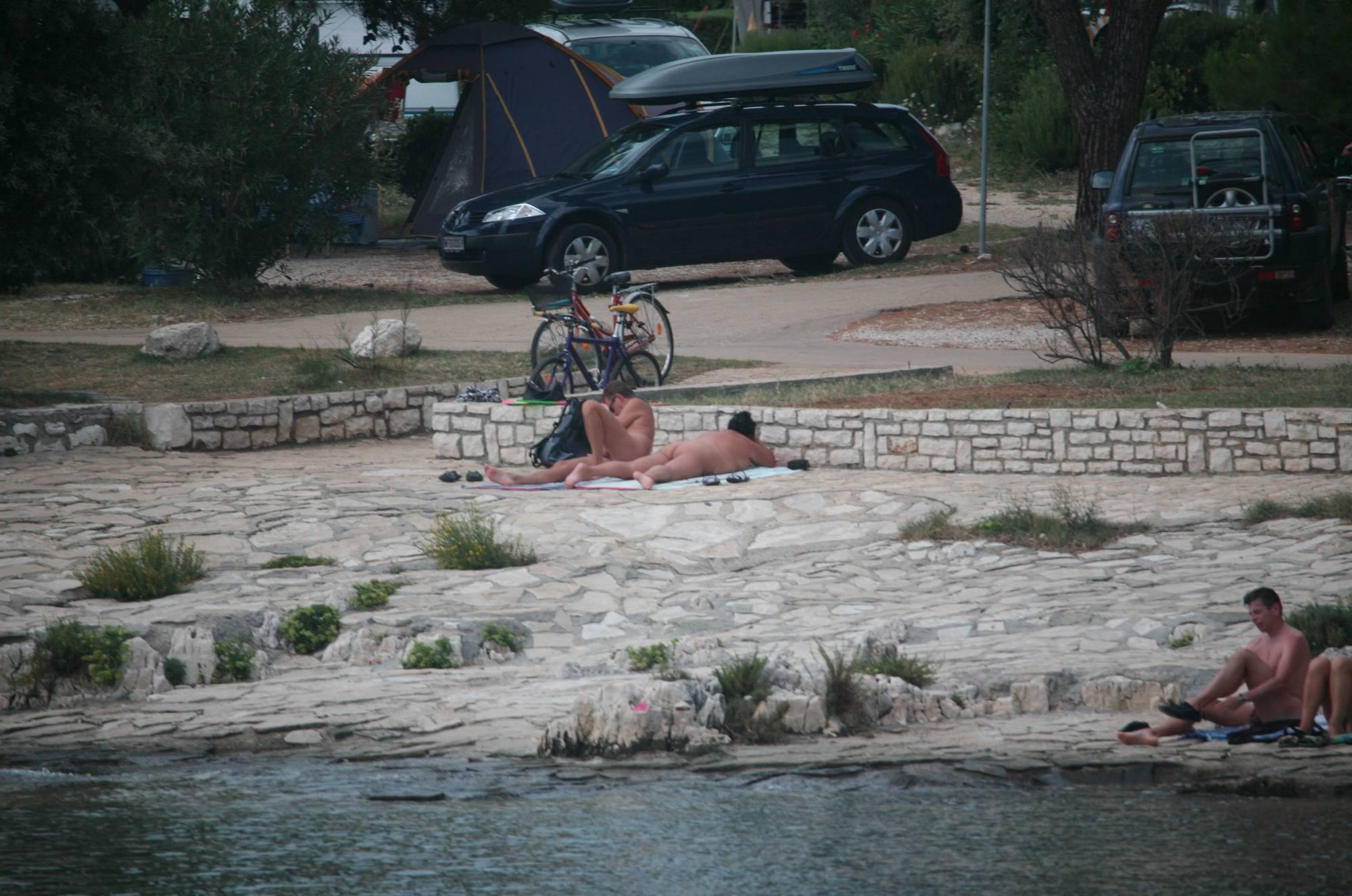 Nudist Photos Nude Beach Bridge Cross - 1