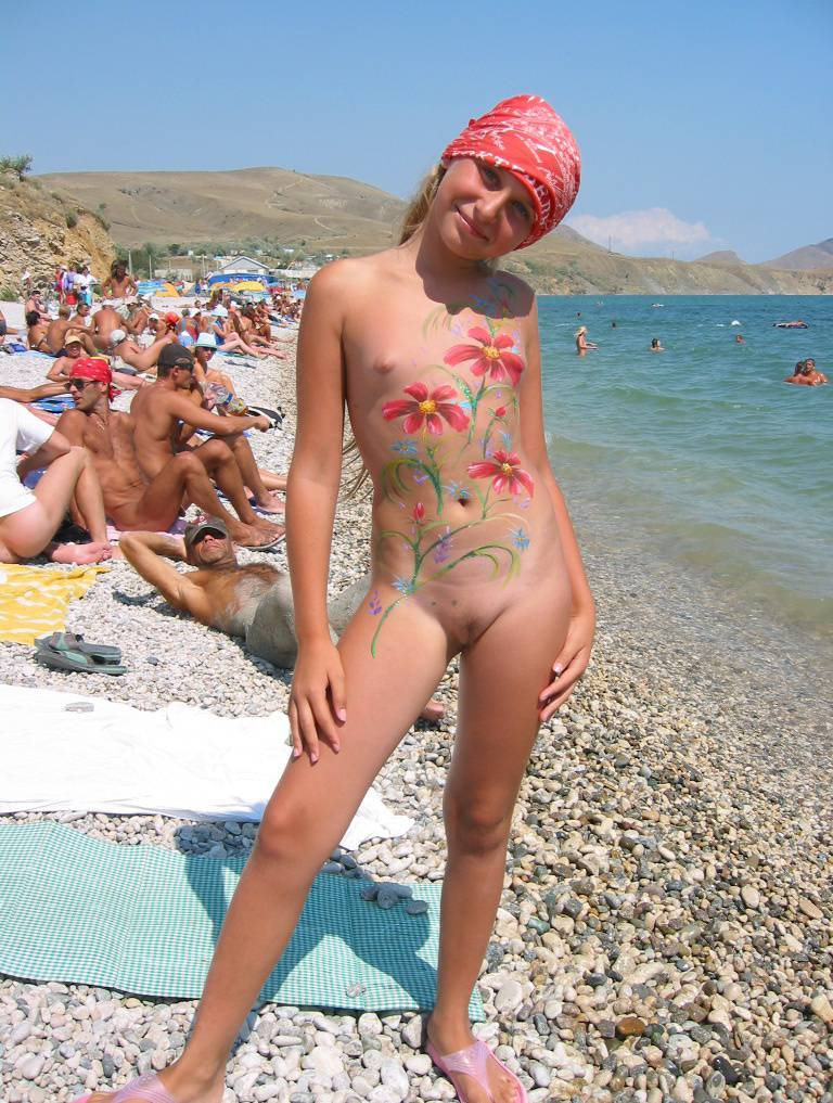 Nudist Pictures Nude Bodypaint Exposition - 1