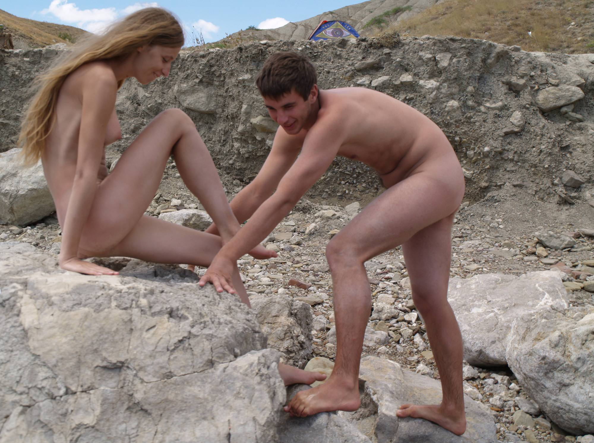Nudist Photos Nude Couple Air Fortress - 2