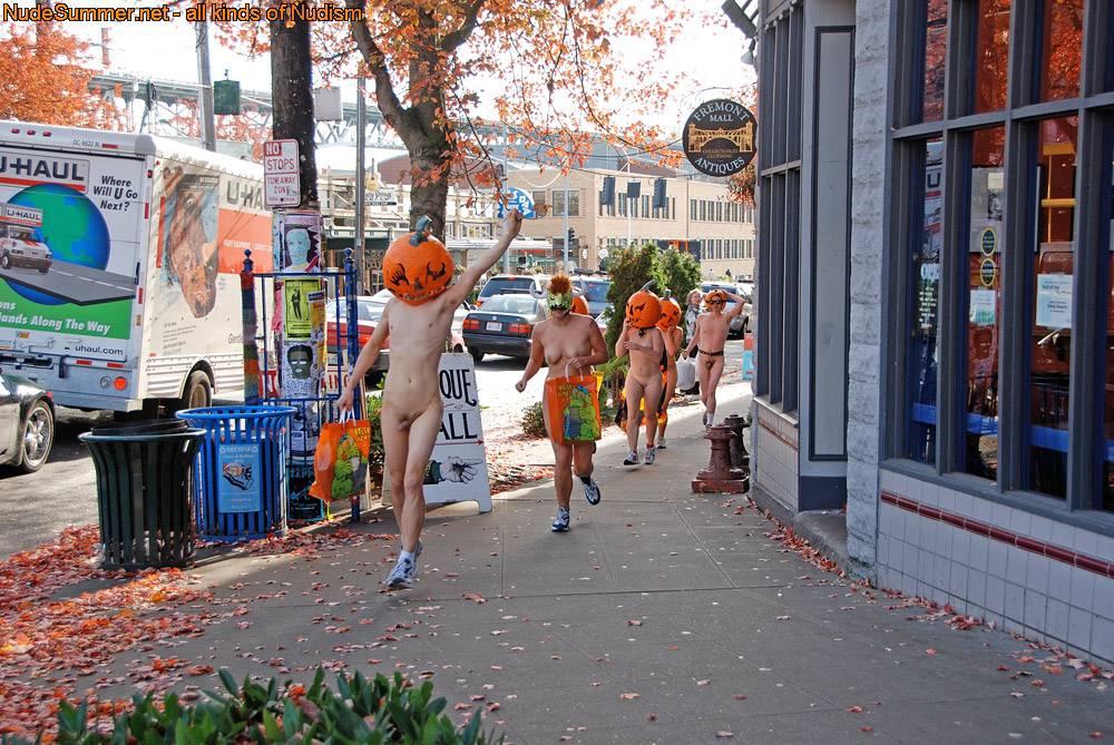 Nudist Photos Nude Pumpkin Runners (NPR) - 1