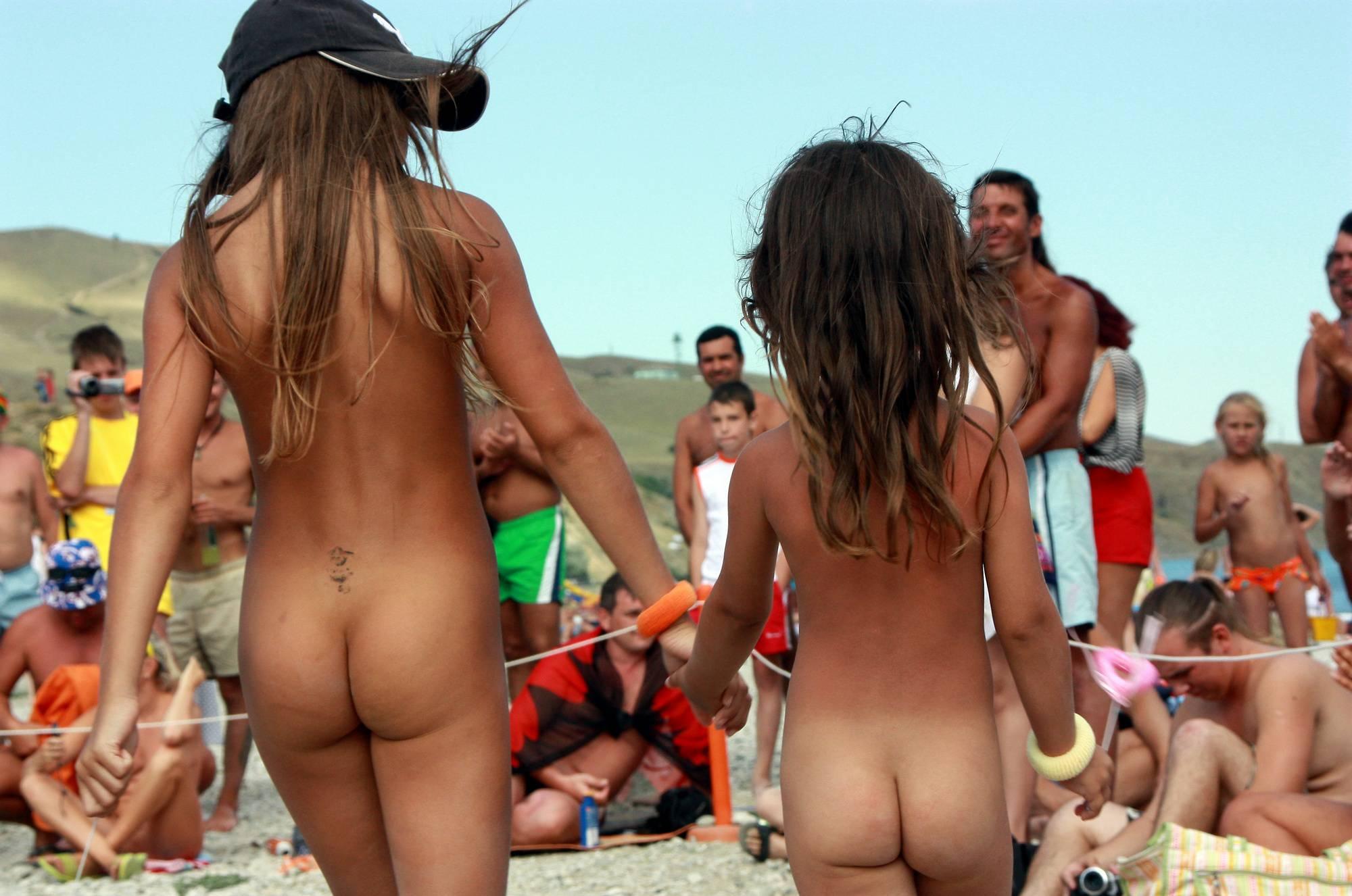 Nudist Duet Girl Rundown - 2
