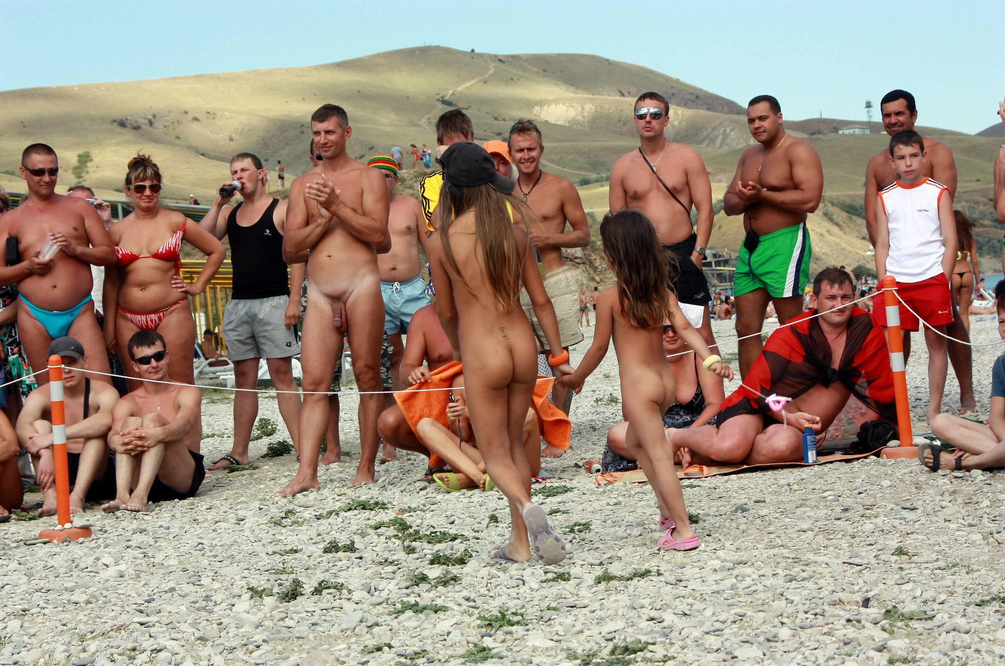 Purenudism Photos Nudist Duet Girl Rundown - 1