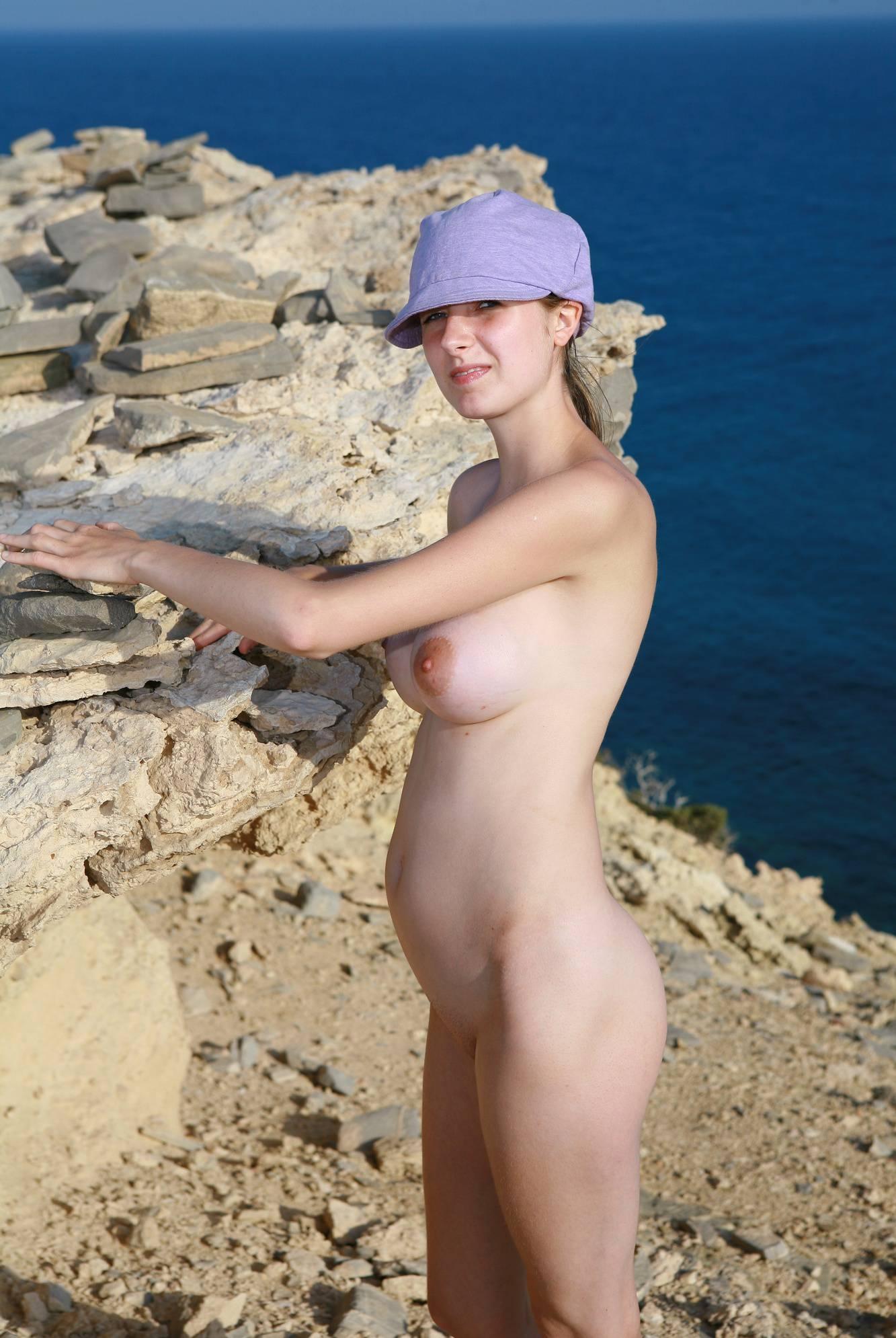 Nudist Pics Greek Girl Cliff Hangers - 1