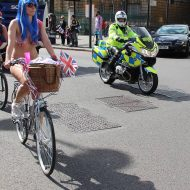 World Naked Bike Ride (WNBR) 2012 Part 1