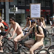World Naked Bike Ride (WNBR) UK 2009