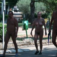 More Aged Nudists Walks