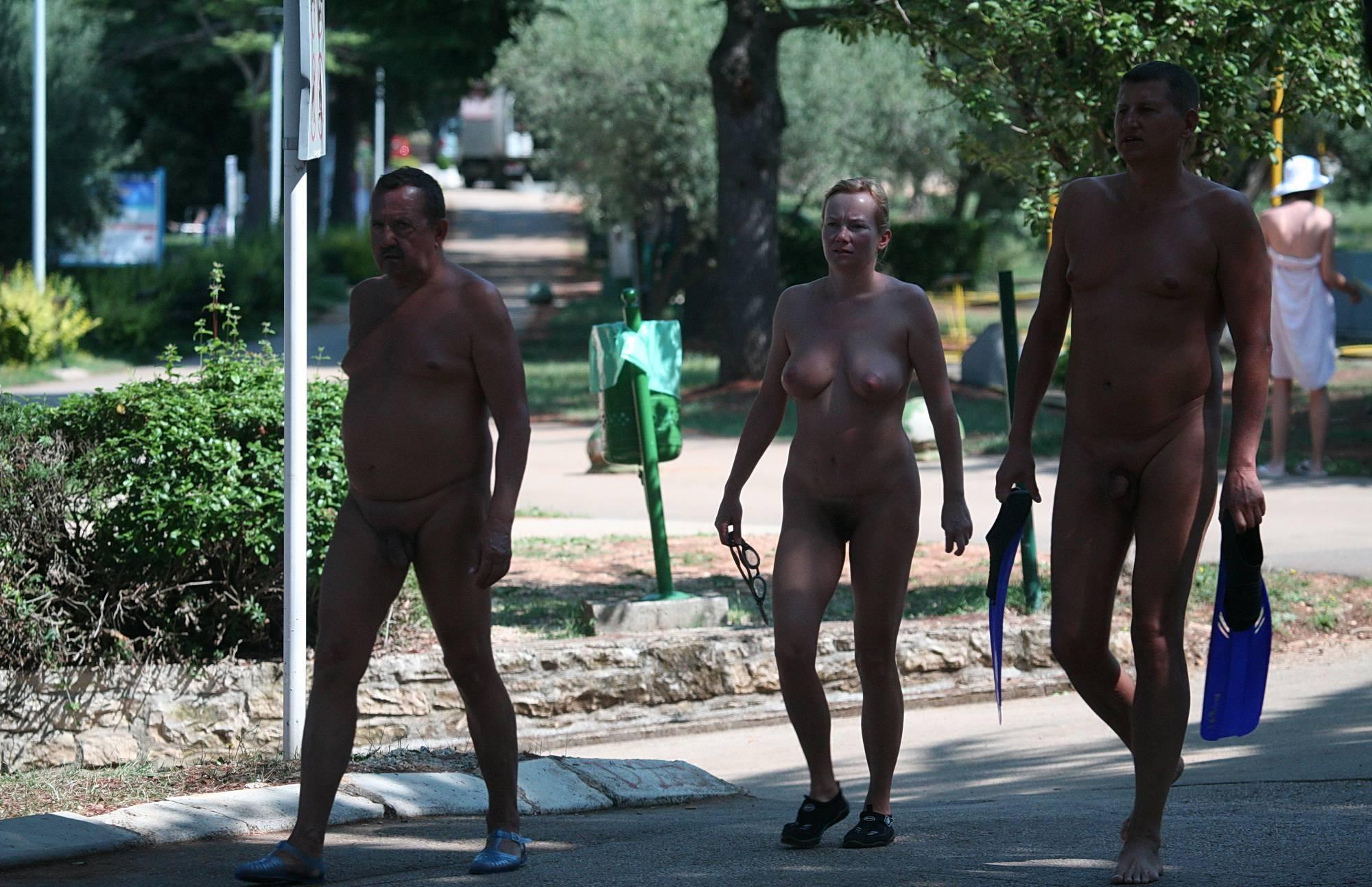 More Aged Nudists Walks - 1