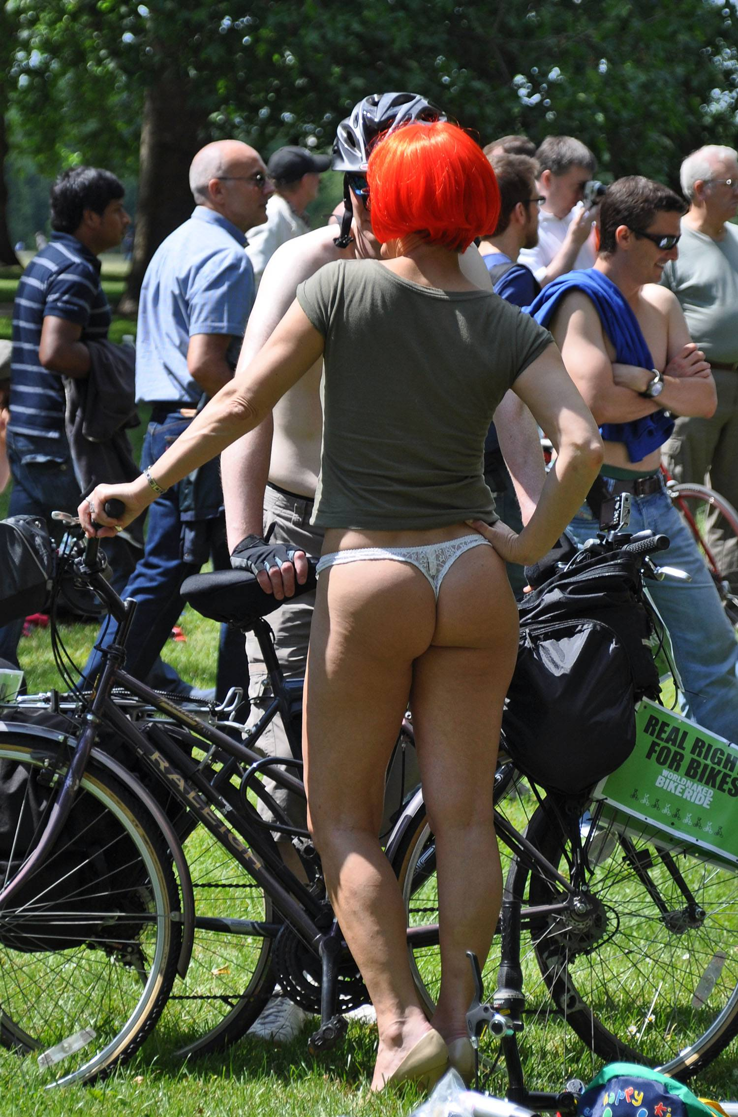 Nudist Pictures World Naked Bike Ride (WNBR) 2009 - 1