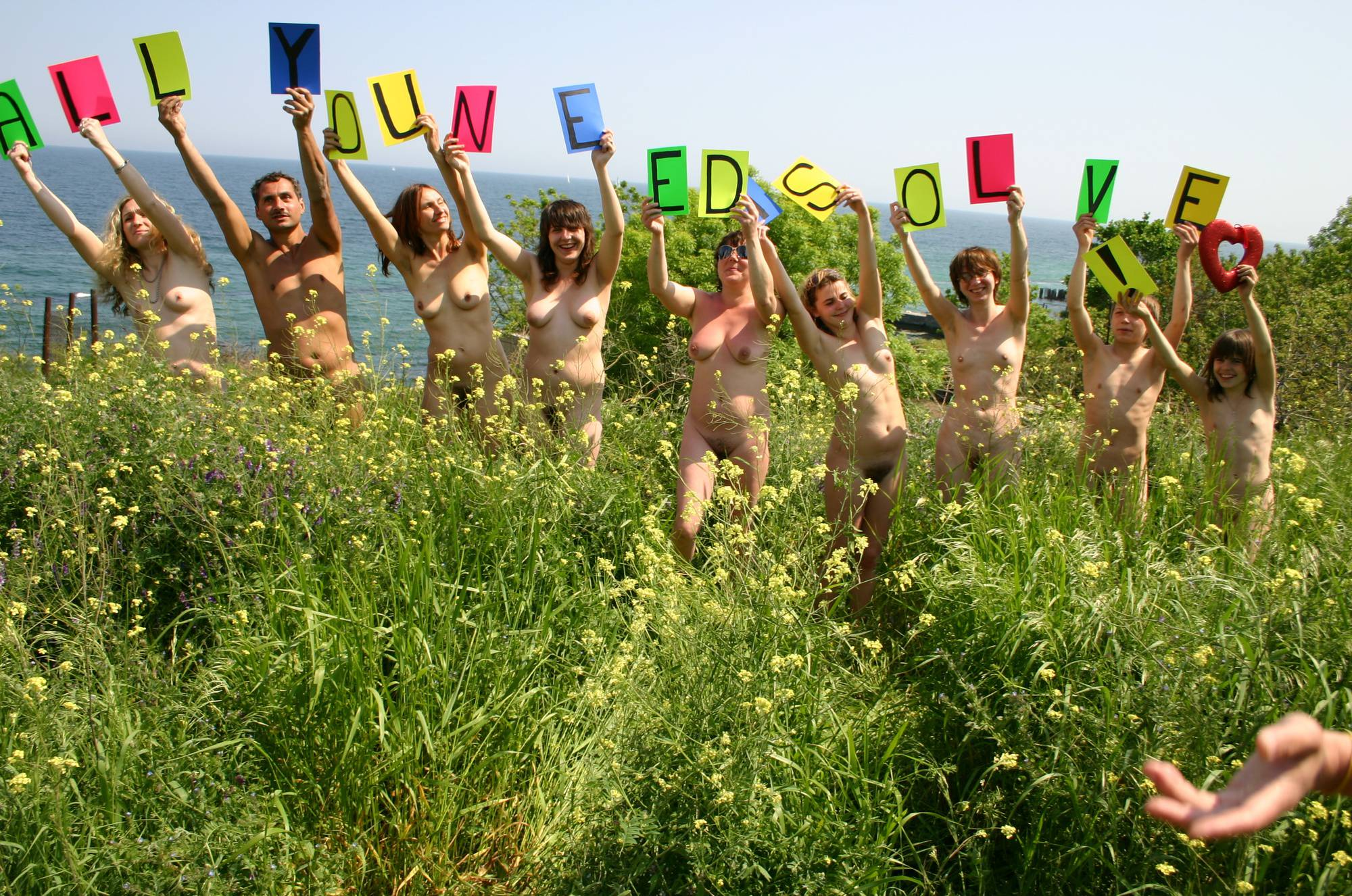 Colored Naturist Letters - 2