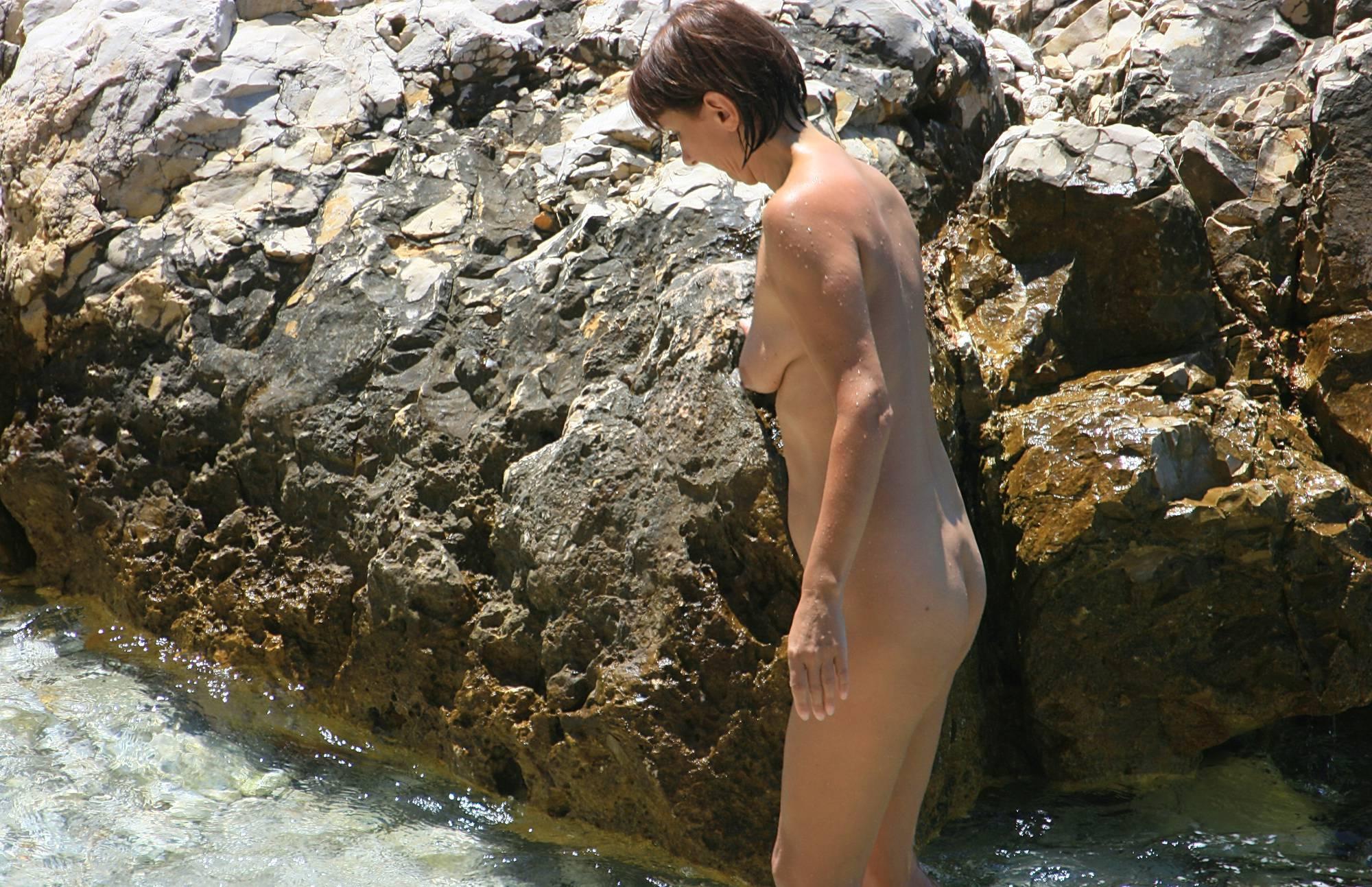 Nudist Photos Colorful Ocean Waterfront - 2