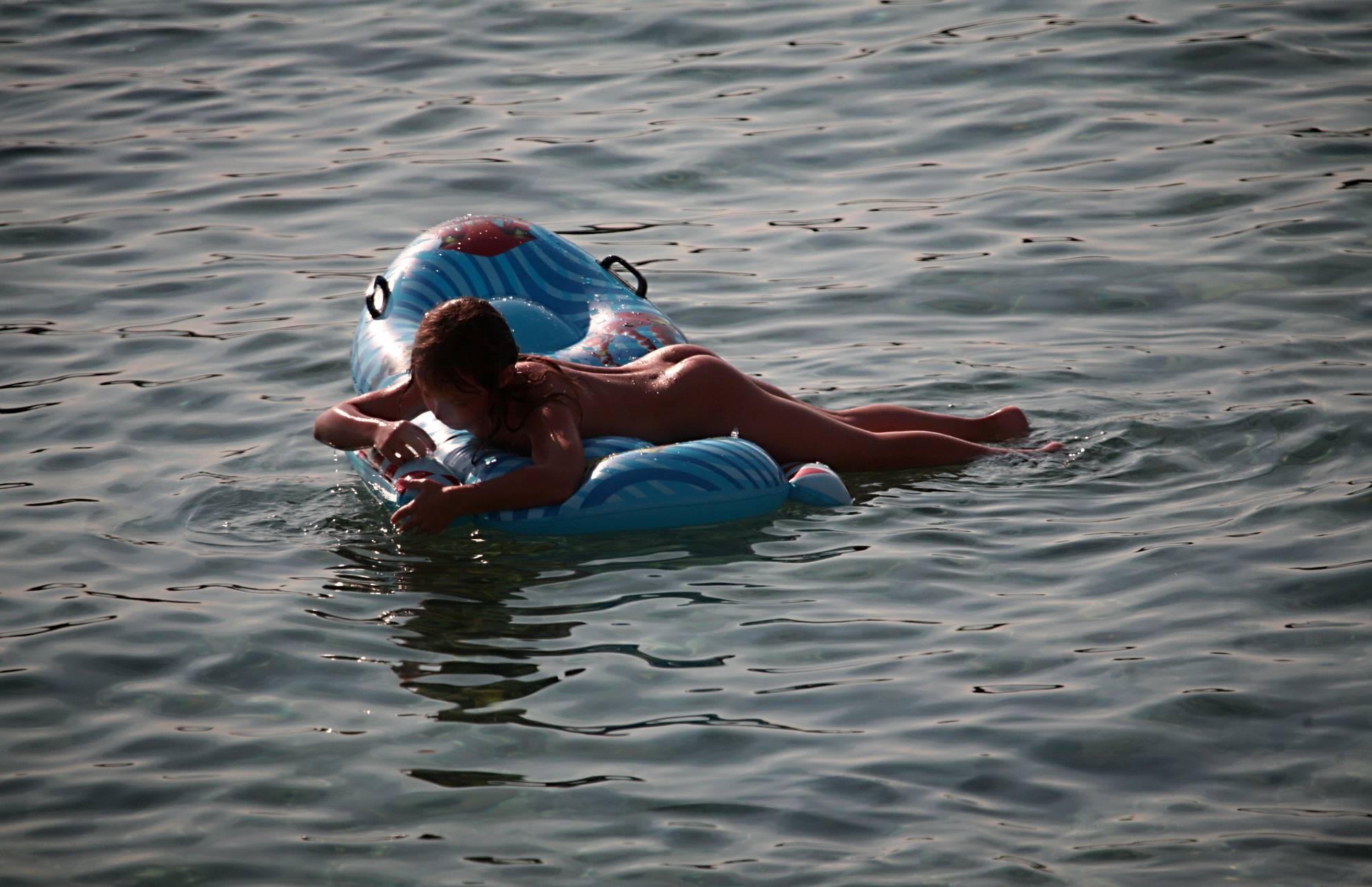 Nudist Pics Father Floats His Daughter - 2