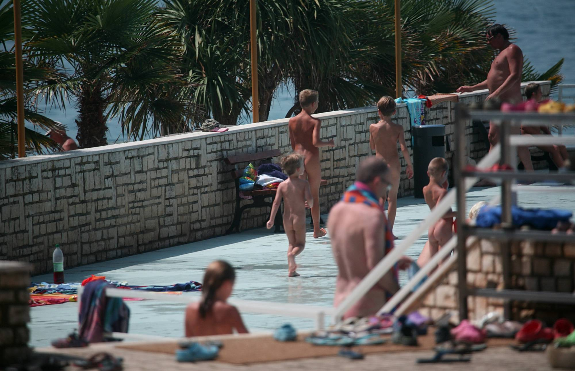 Naturist Pool Day Visitors - 2