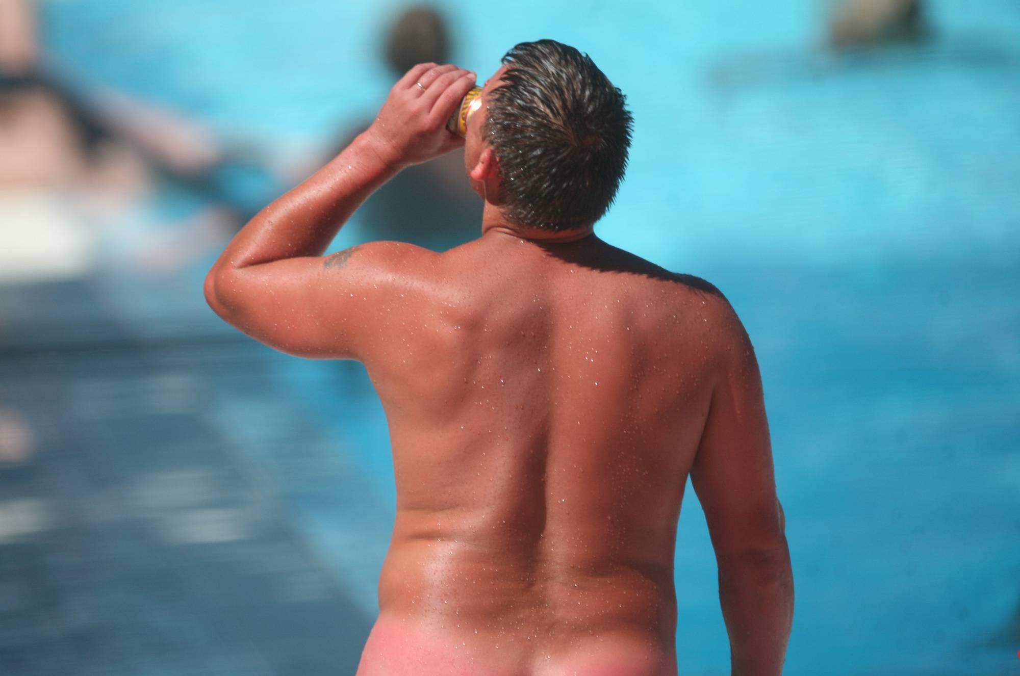 Pure Nudism Pics Nudist Pool Walk Around - 1