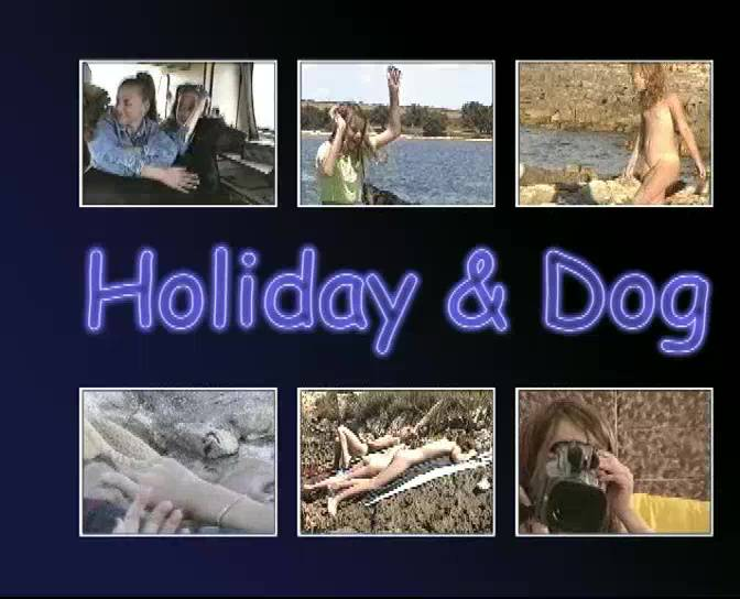 Holiday and Dog - Poster