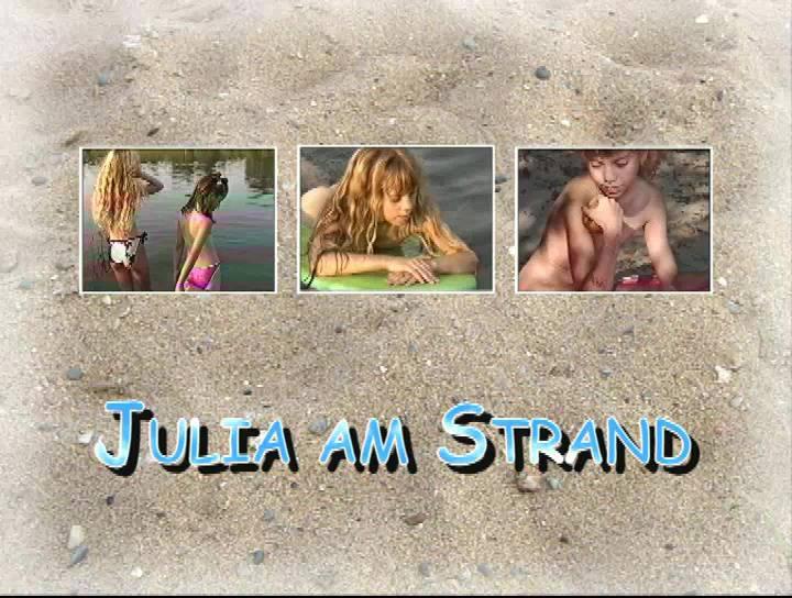 Naturist Videos Julia am Strand - Poster