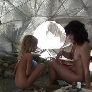 Silver Outdoor Tent 1