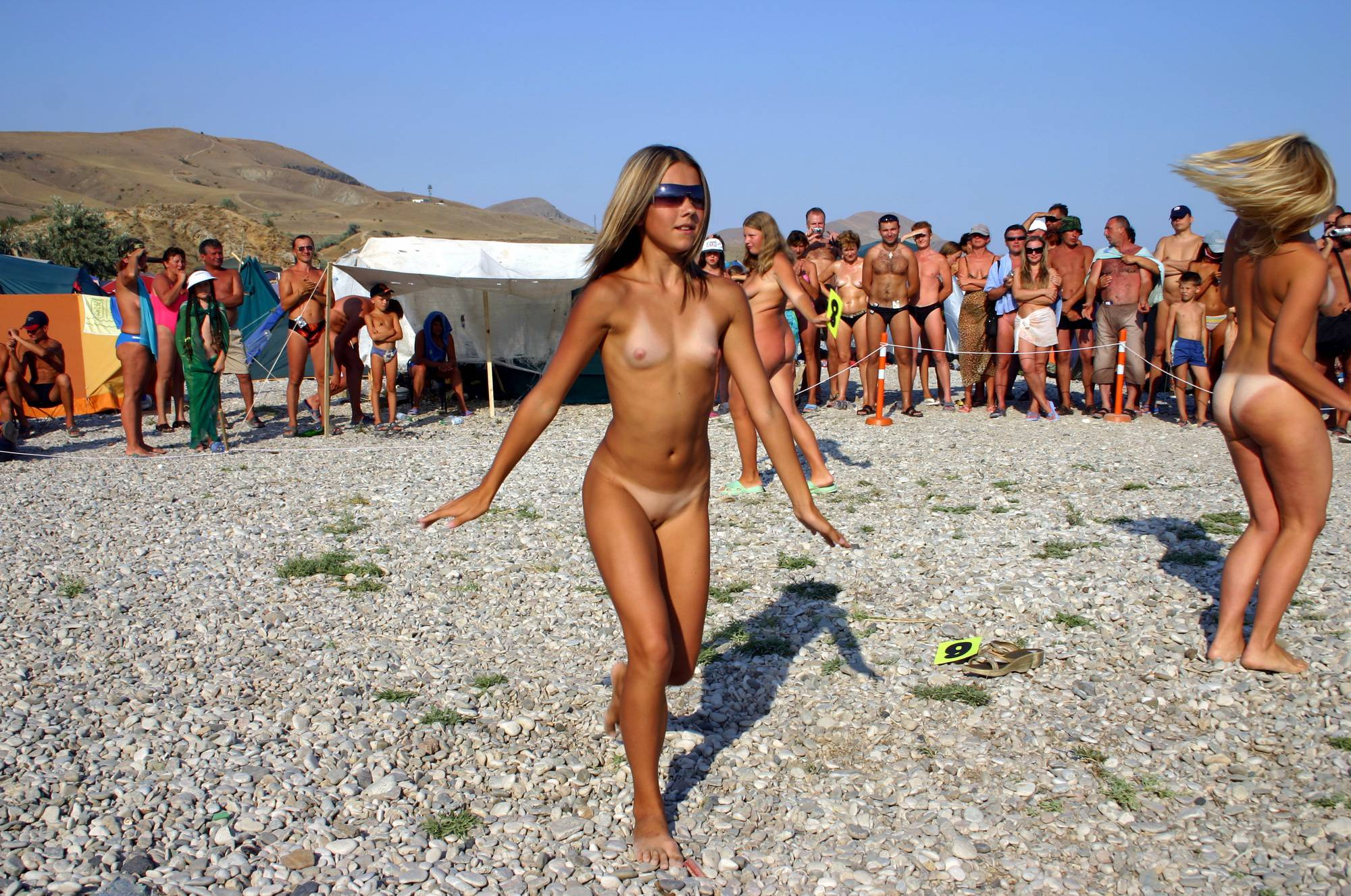 Pure Nudism Photos Pageant Walk and a Dance - 1