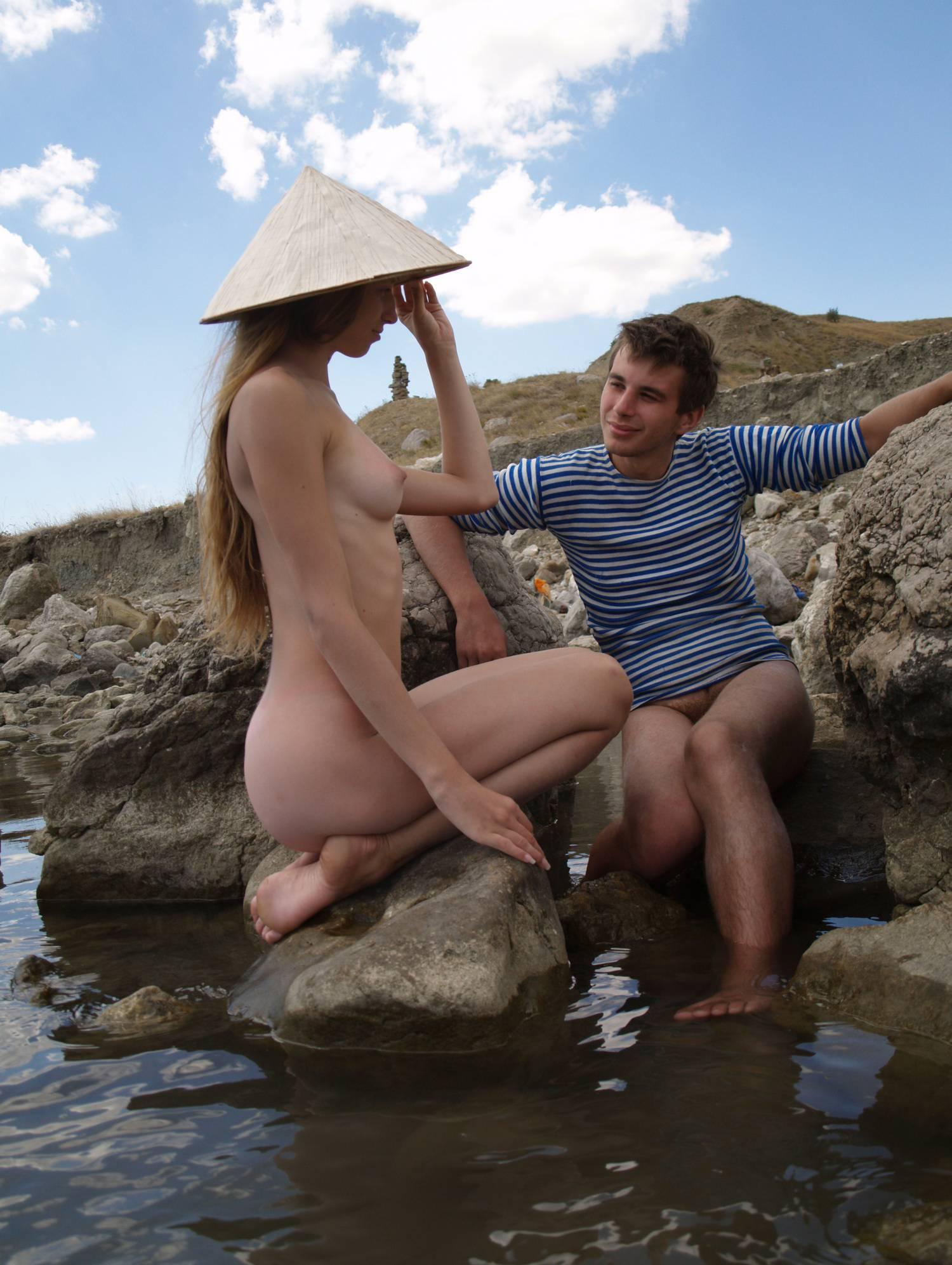 Pure Nudism Photos Couple of a Naturist Angel - 1