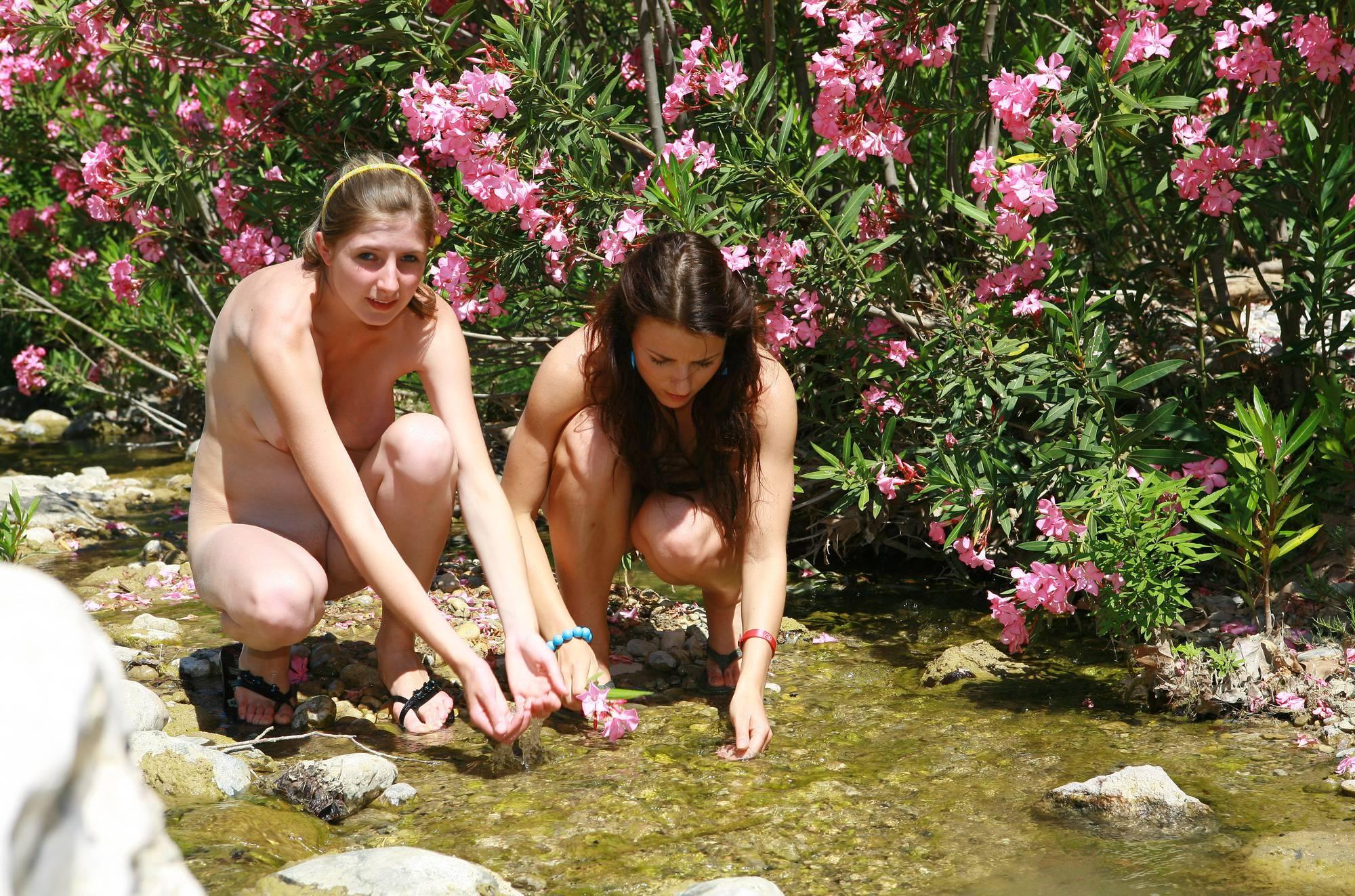 Purenudism Pics Greek Flowery Hill Top - 1