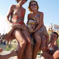 Nude Human Weightlifting