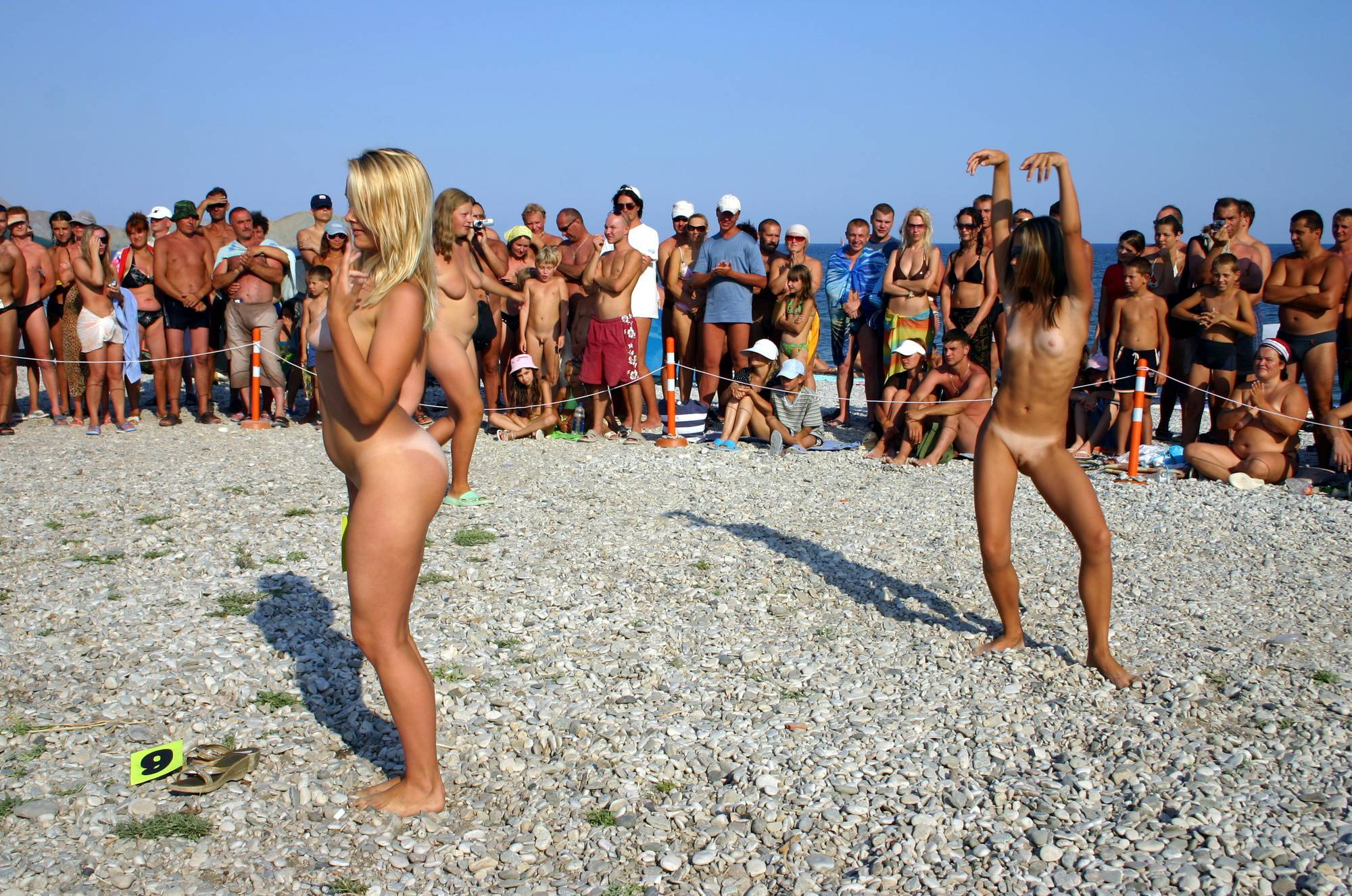 Pure Nudism Gallery Pageant Walk and a Dance - 2