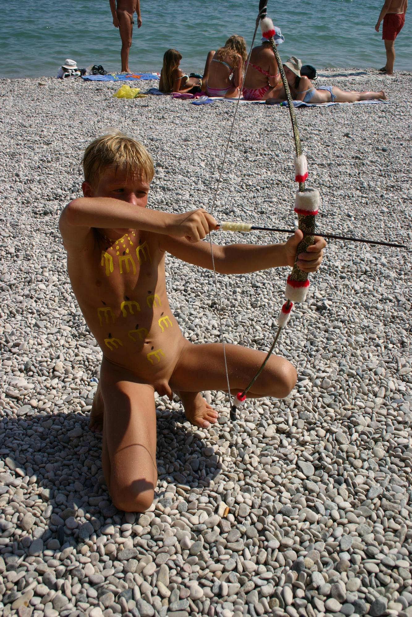 Pure Nudism Gallery Beach-Front Arrow and Bow - 2