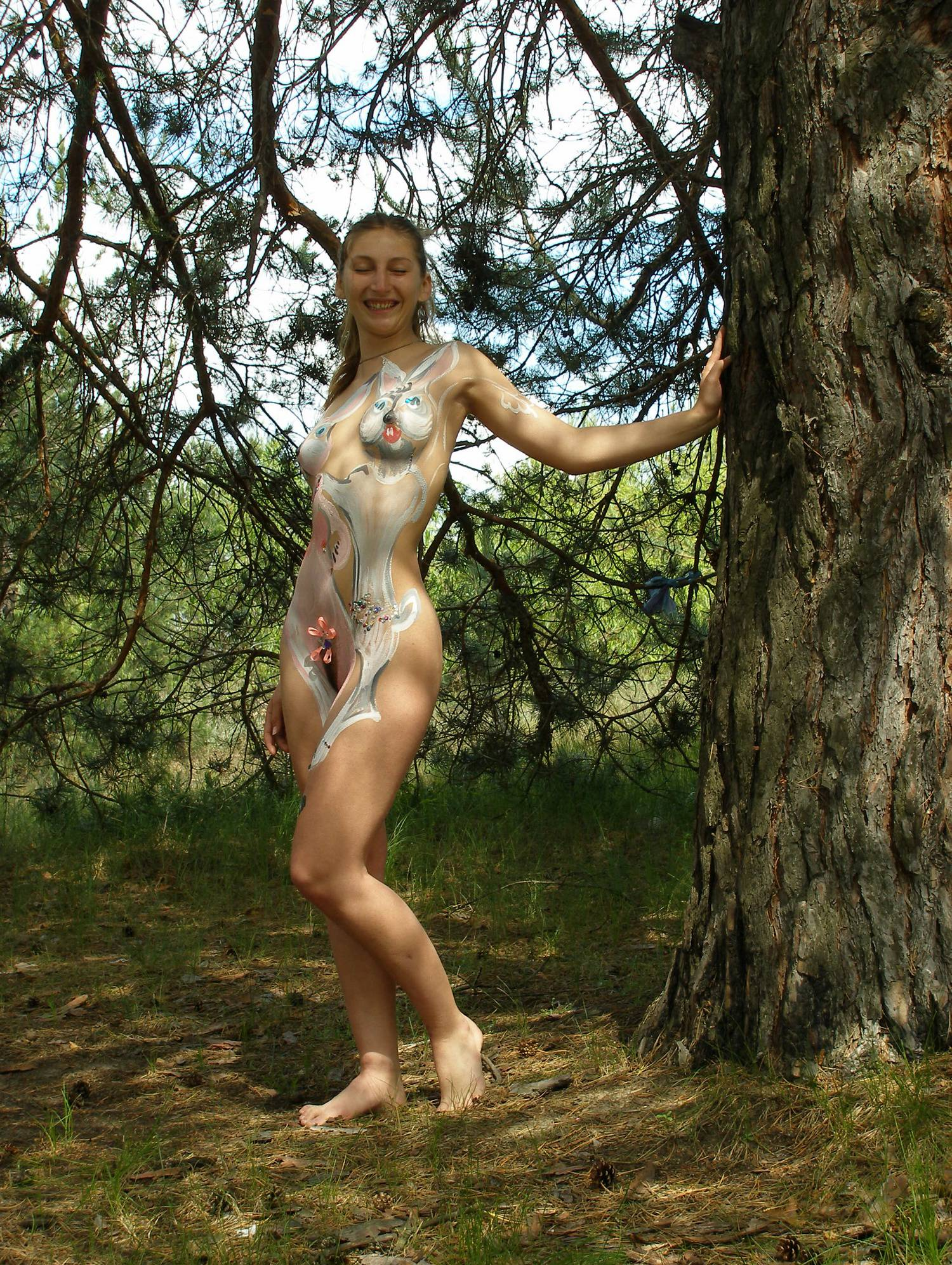 Purenudism Gallery Kiev White Robe Goddess - 1