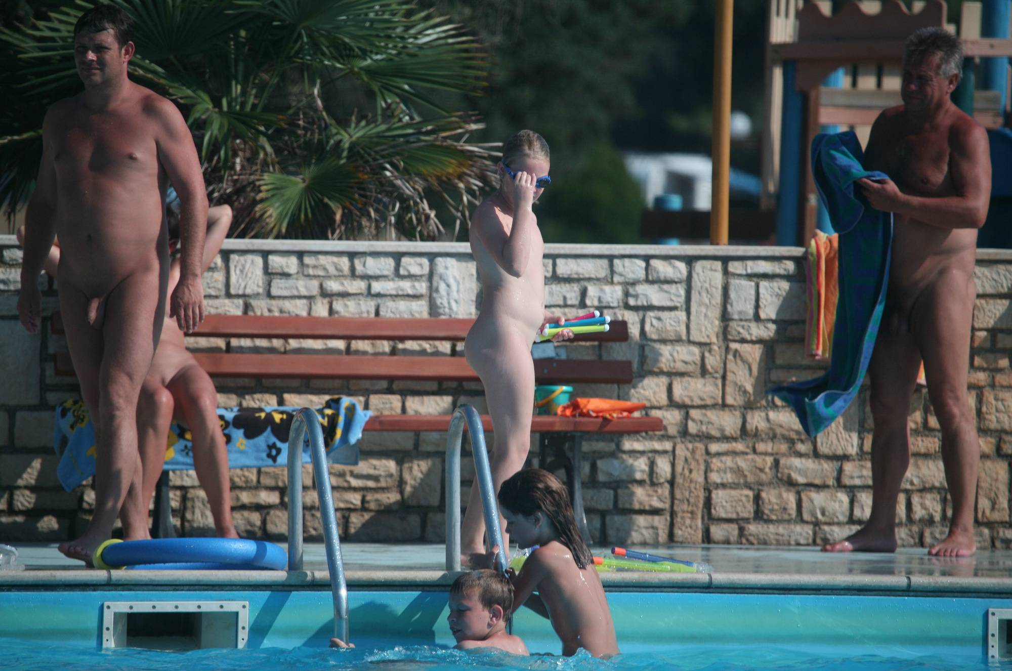 Pure Nudism Gallery Naturist Family Pool Days - 1