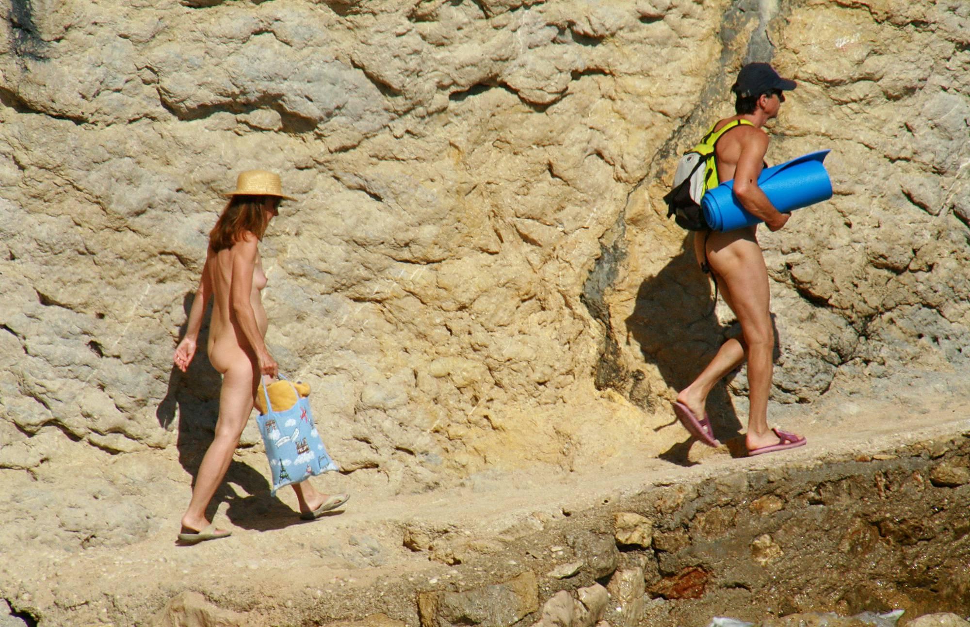 Nudist Mountain Climbers - 2