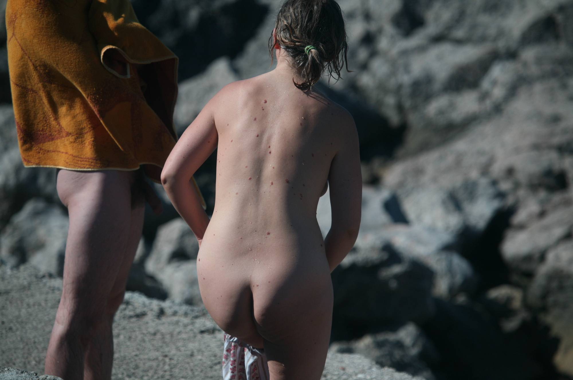 Pure Nudism Crete Inner-Pyramid Beach - 1