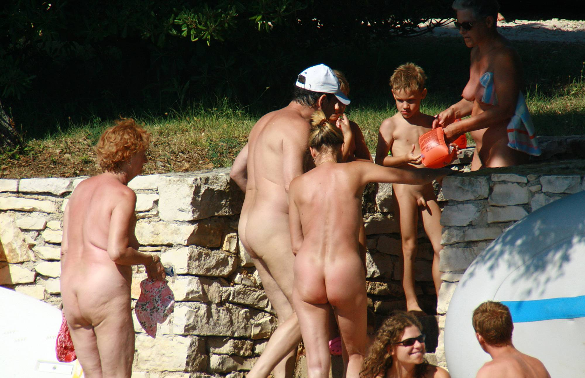 Pure Nudism Images Pleasant Day At The Park - 1