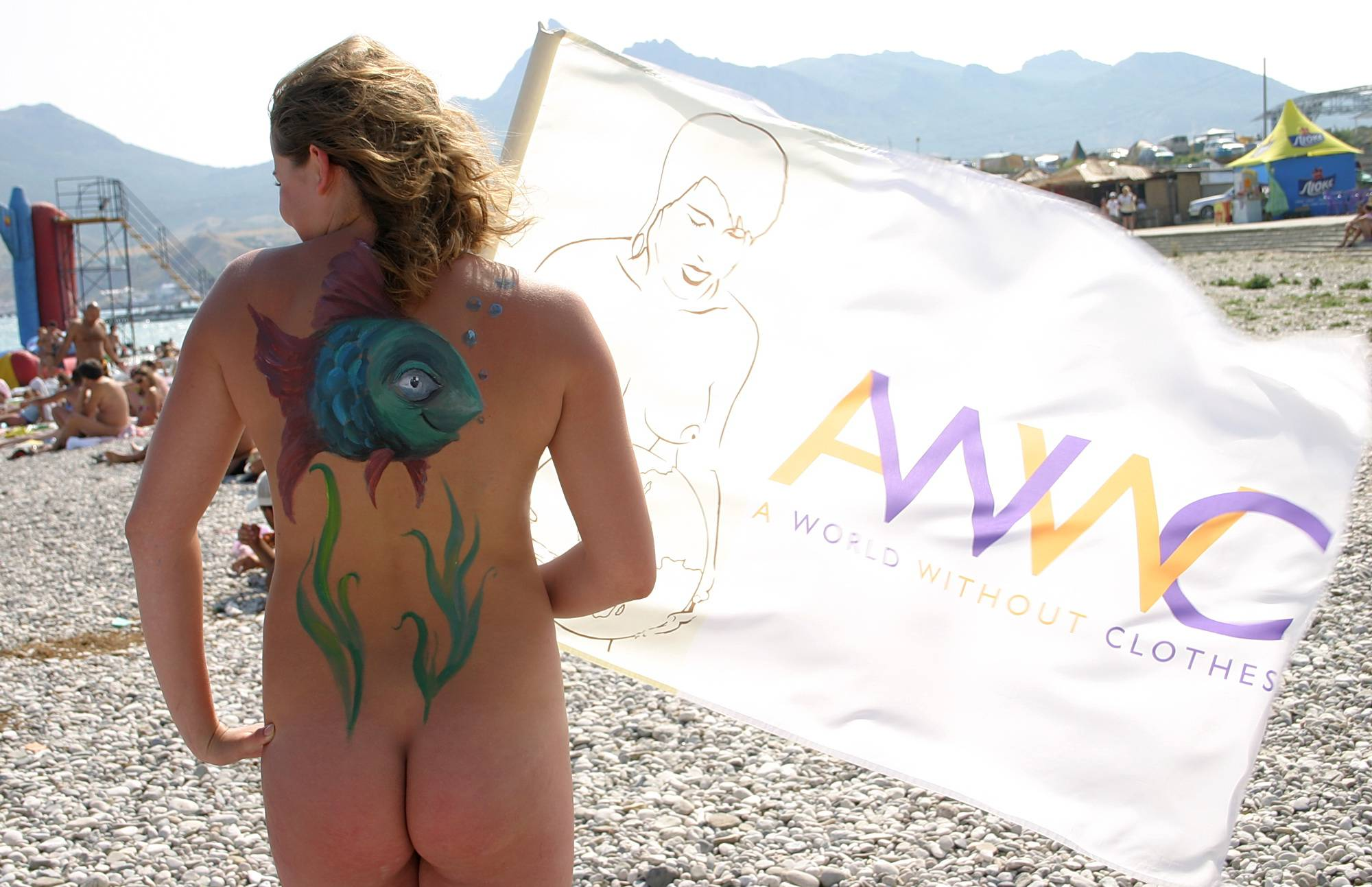 Sunny Side Body Painting - 1