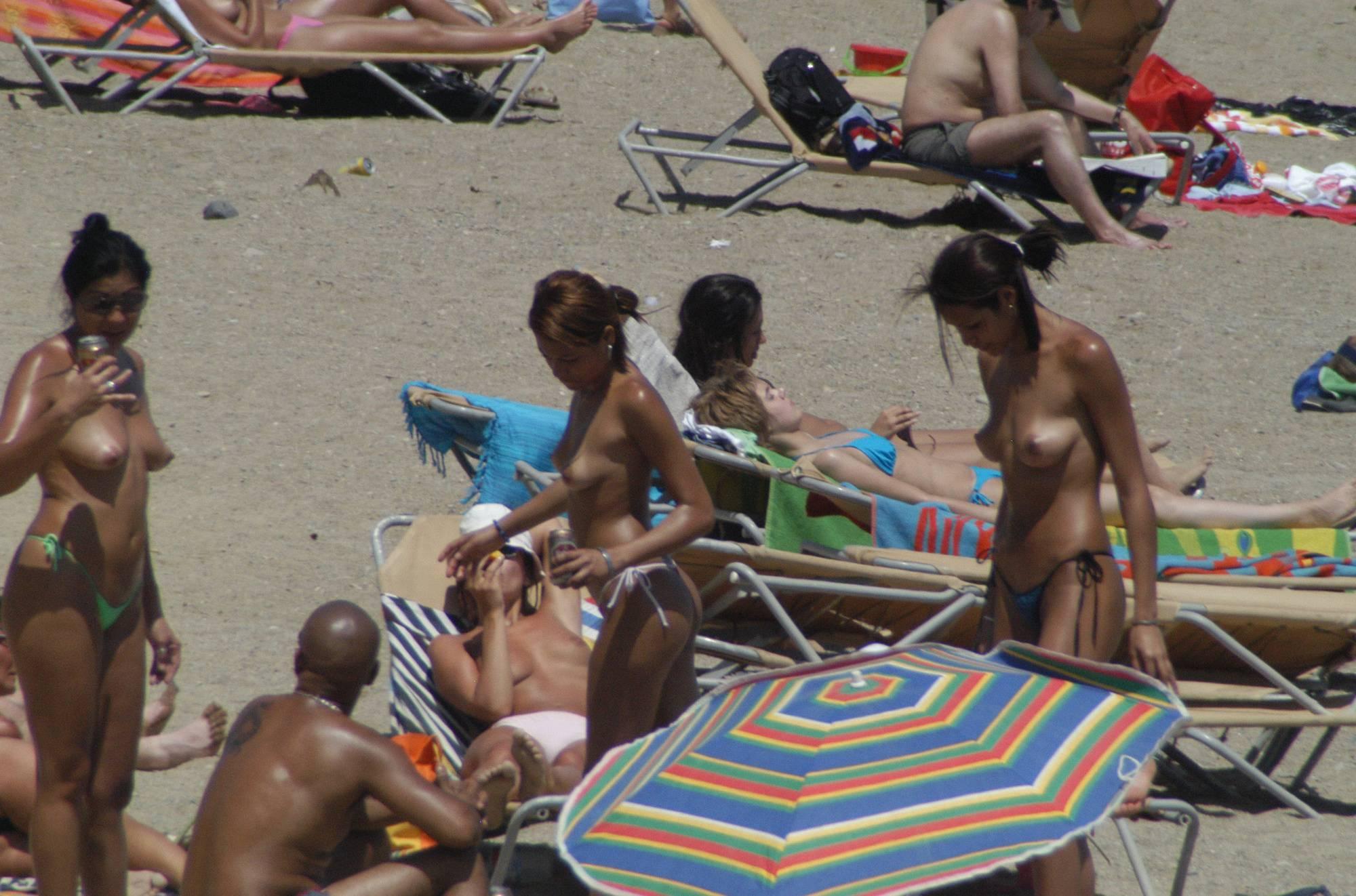 Pure Nudism Gallery Barcelona Topless Beach - 2