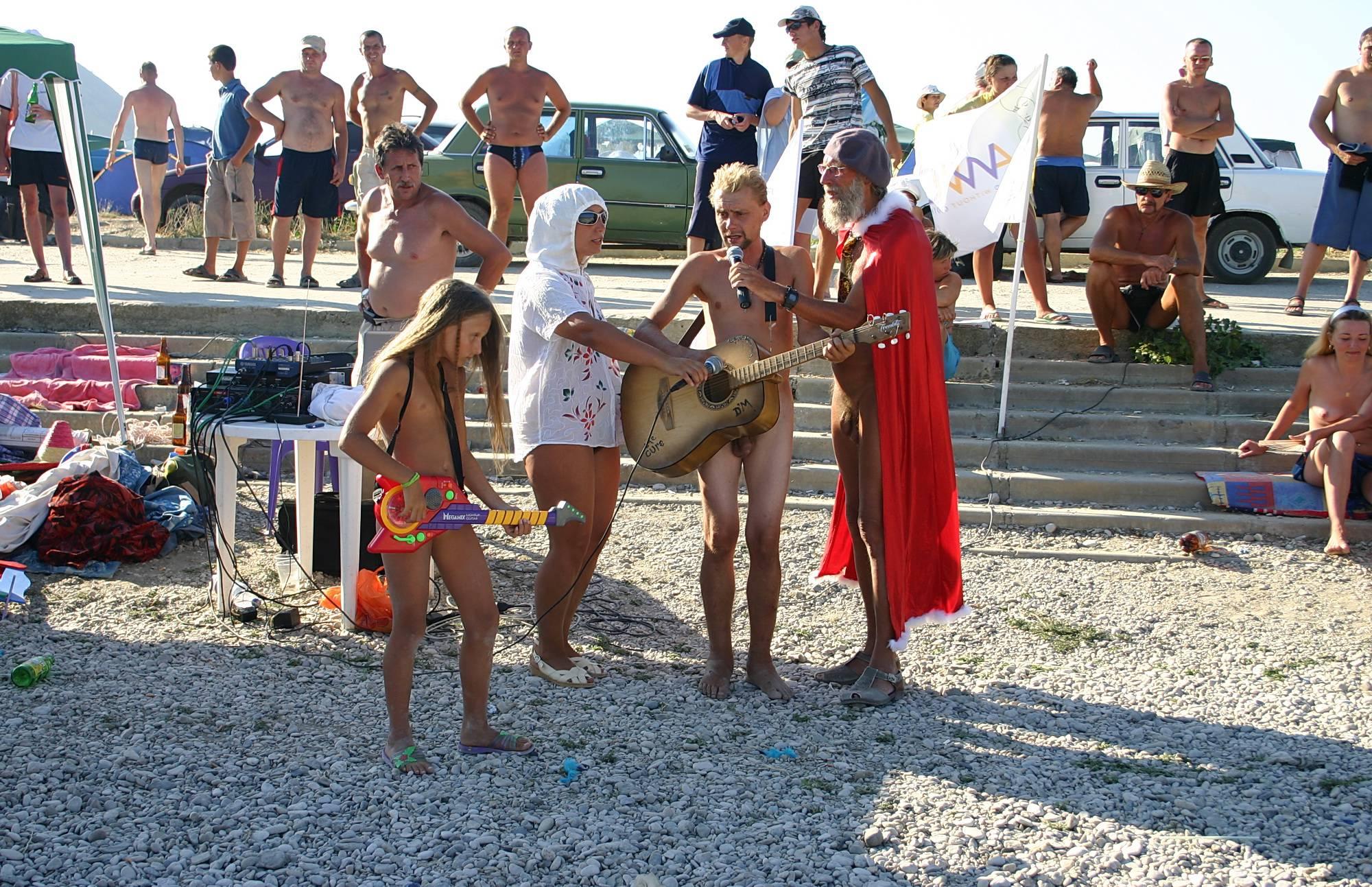 Nudist Pics Red Cape Dance Contest - 1