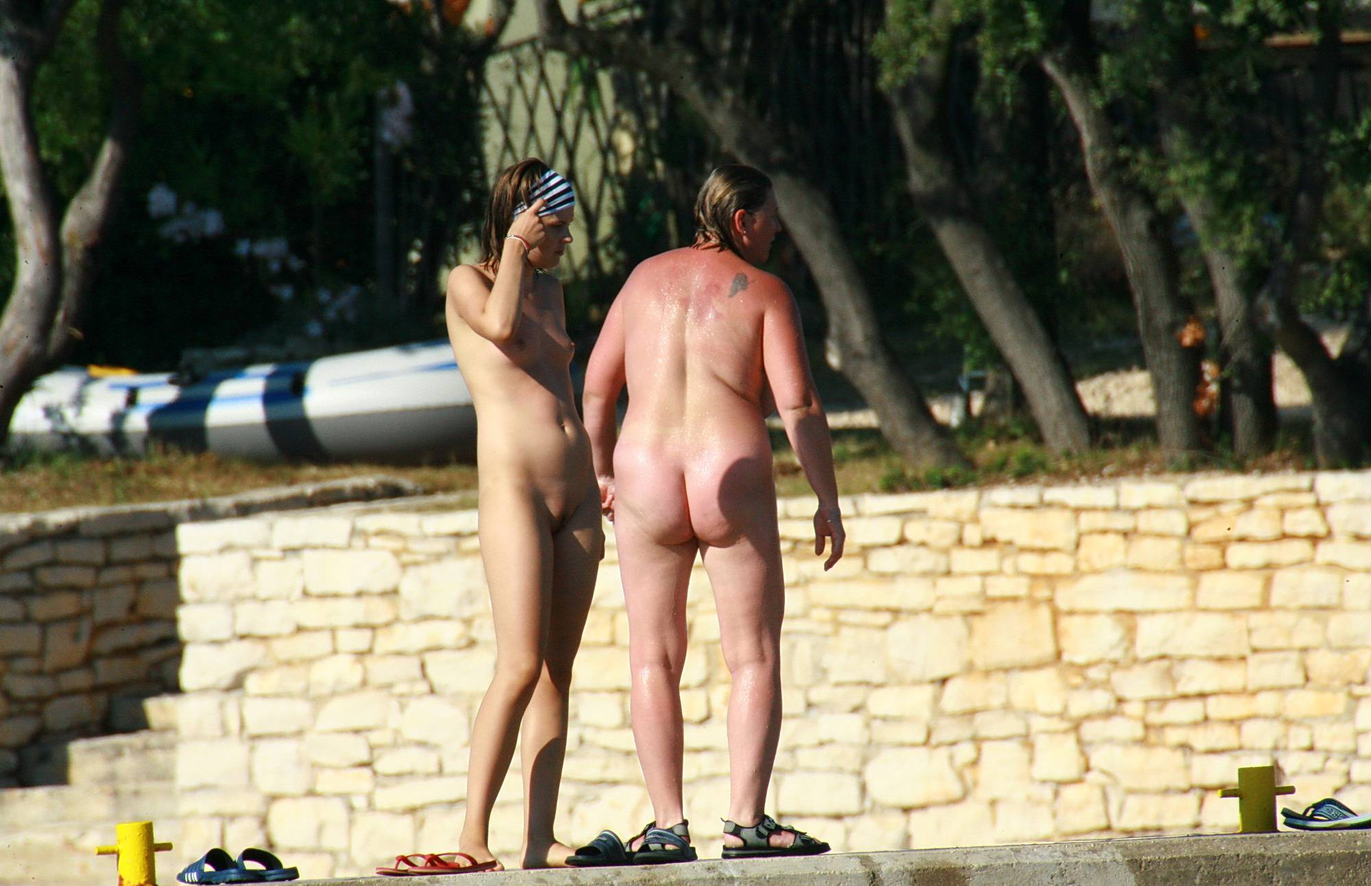 Nudist Pictures Roasting Day Outdoors - 2