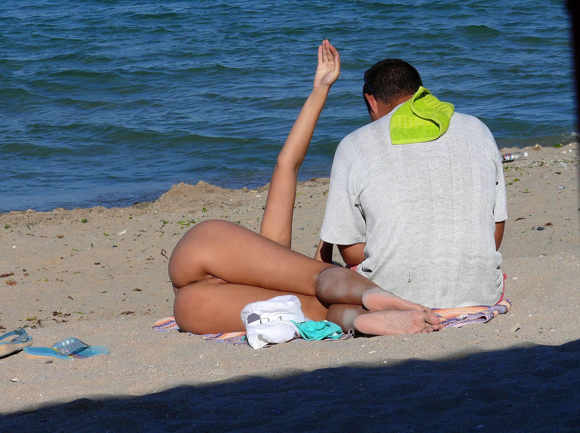 Romanian Beach Voyeur - 1