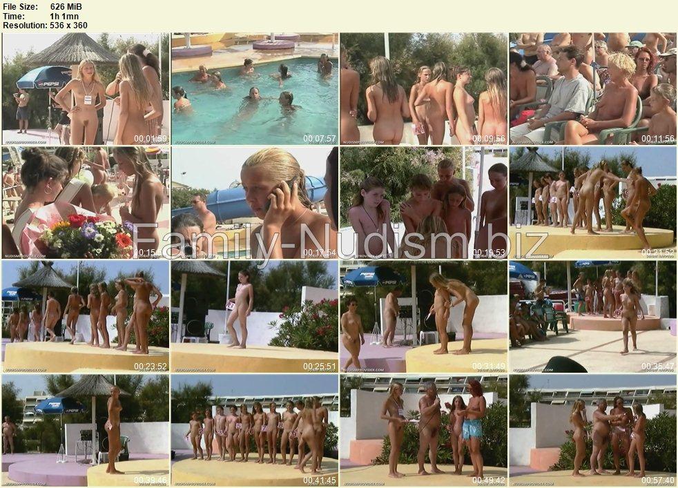 Hot natplus junior naturist pageant videos wet