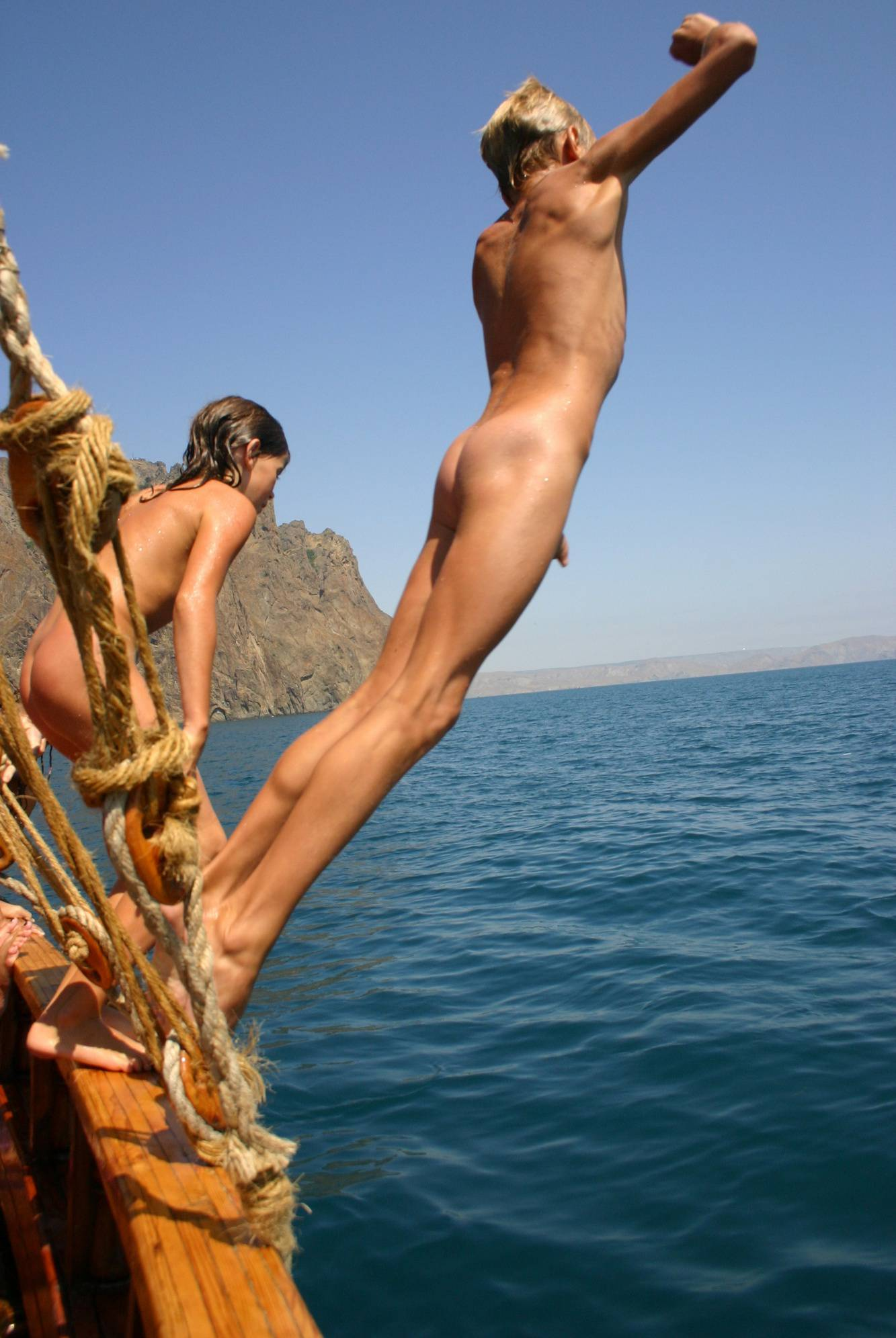 Ship Shape Lake Jumpers - 2