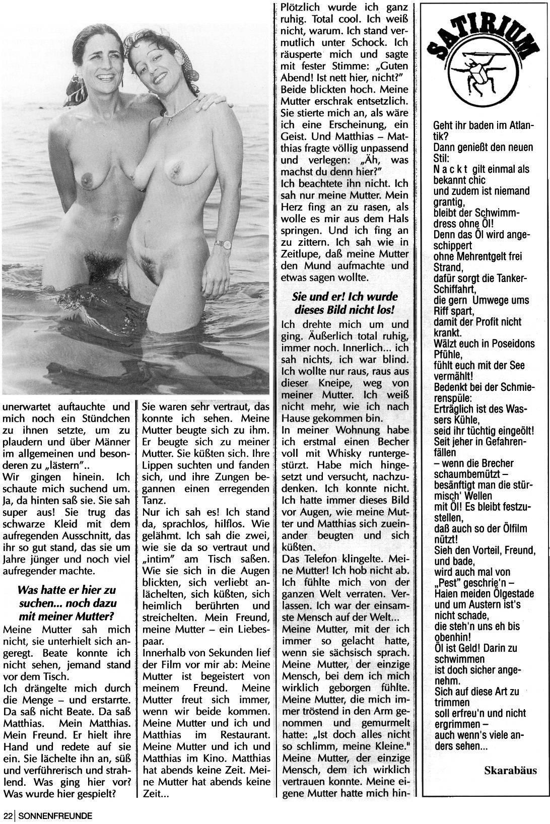 Naturist Magazines Sonnenfreunde 1993 Nr.7 - 1