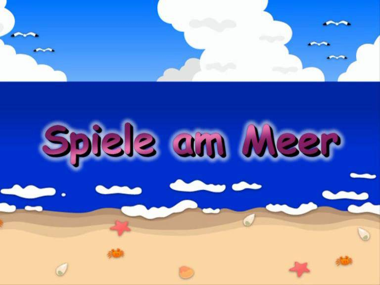Spiele am Meer - Poster
