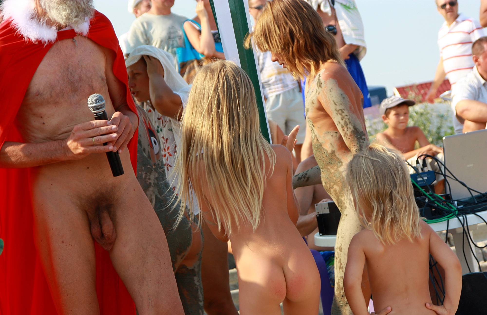Nudist Photos Staying In A Cool Shade - 2