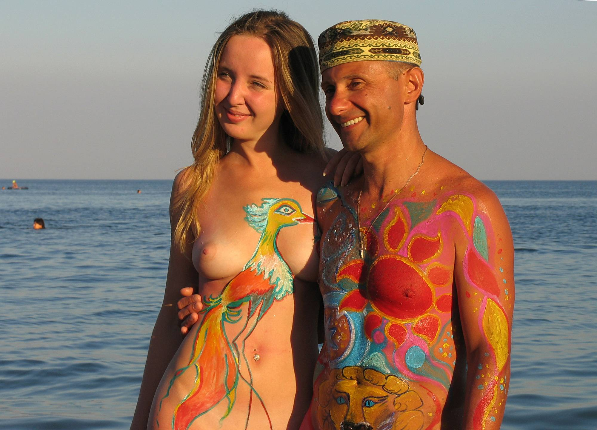 Pure Nudism Gallery Sun Setting On The Ocean - 1