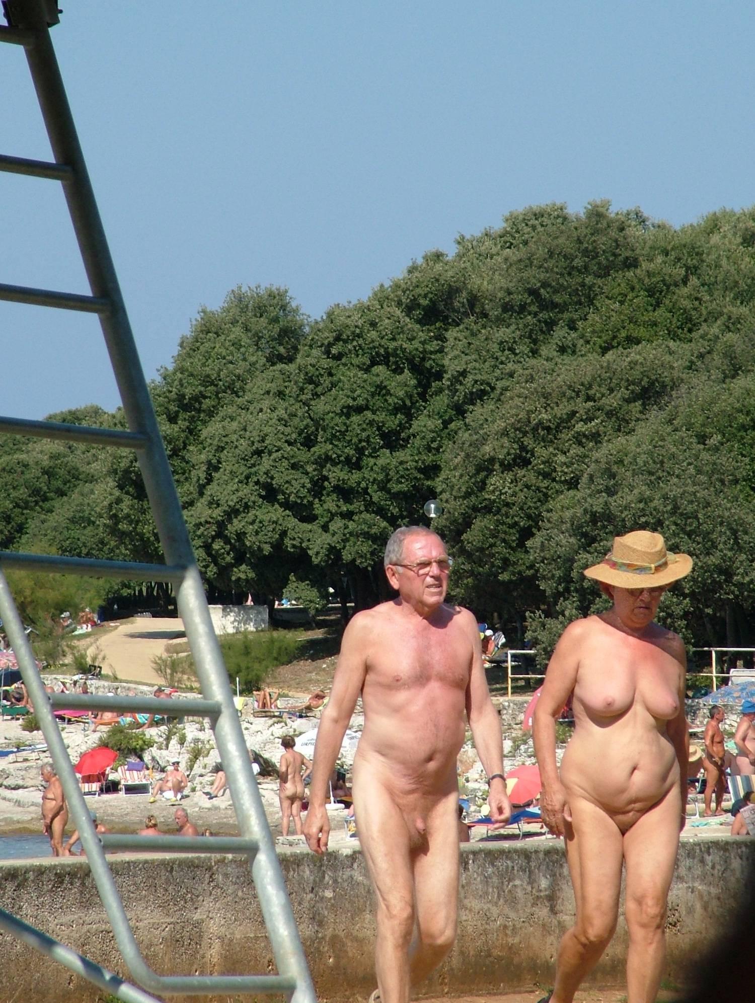 Nudist Photos Sunny FKK Bridge Cross - 2