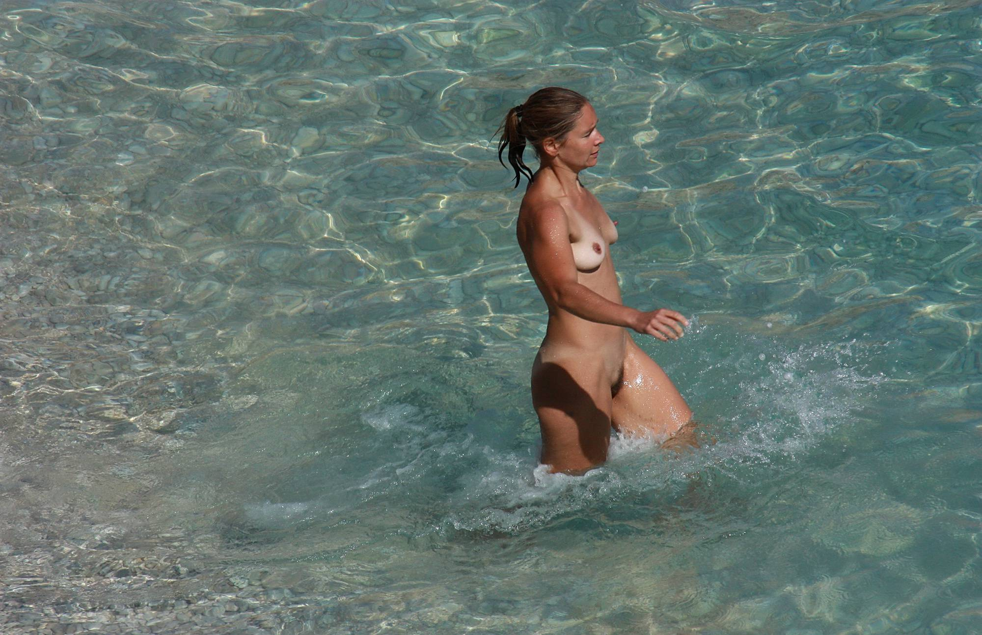 Nudist Pics Swimming For Exercise - 1