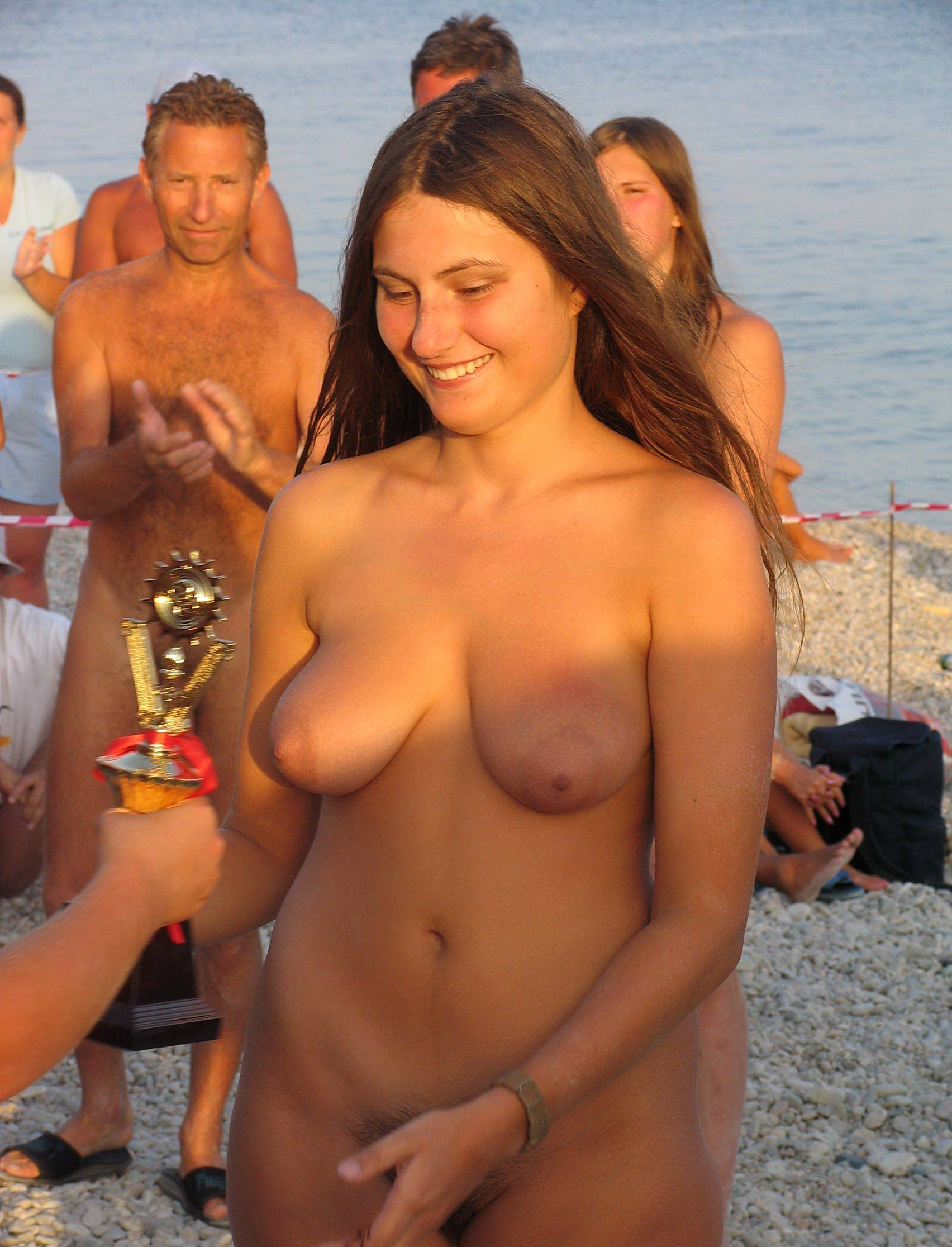 Tanned Naturist Relaxation - 2