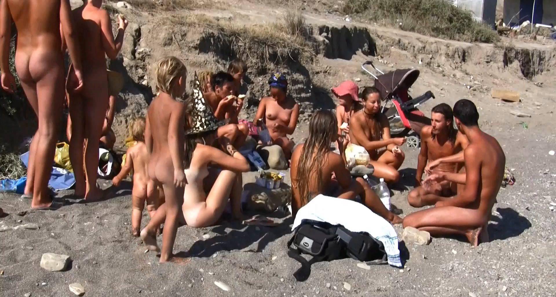 Nudist Movies The Vast Oceanfront - 1