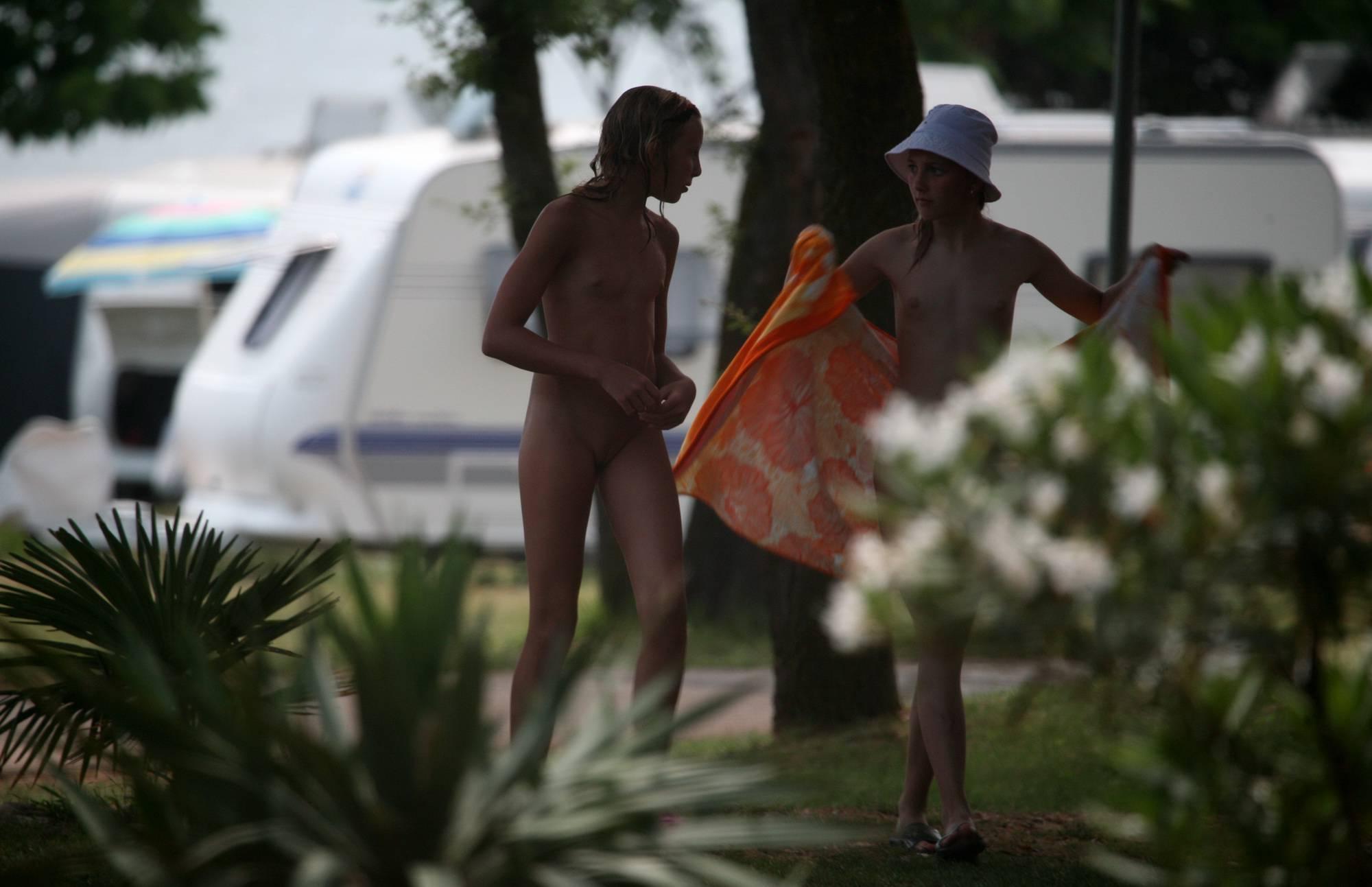 Nudist Photos Two Nudist Day Girlfriends - 1