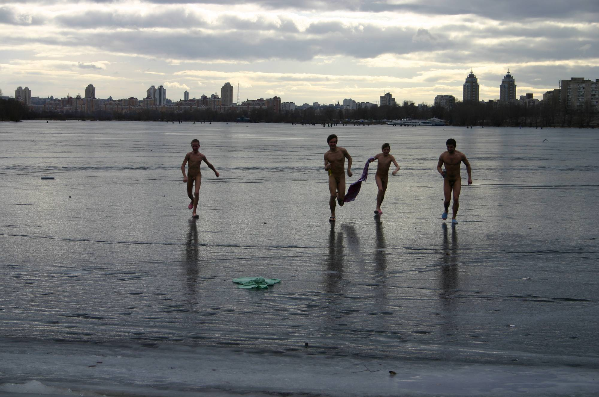 Valentine Nude Ice Jumper - 2